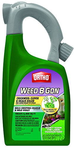 Ortho B Gon Chickweed Clover & Oxalis Weed Killer for Lawns Trigger (Case of (Weed B-gon Weed Killer)