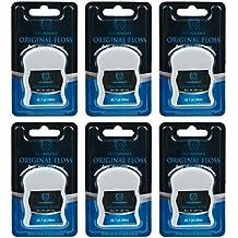 DentAdvance Premium Unwaxed Dental Floss, 40 M, Pack of 6