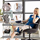 Aukee Lumbar Support for Car, Genuine Leather