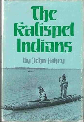 The Kalispel Indians