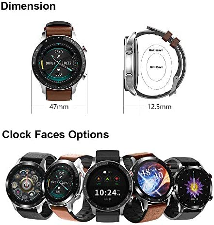 Pewant Fitness Tracker Smart Watch,IP68 Waterproof Activity Tracker Smart Watch TWS Music Play with Heart Rate Blood Pressure Message Alerts Call Reminder Smartwatch for Men Kids,Bluetooth Touch Screen Sport Watch 2