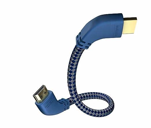 2 opinioni per In-akustik Premium-Cavo HDMI ad alta velocità con Ethernet, connettore angolare,