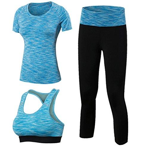 MingDe Womens Leggings Compression Shirts