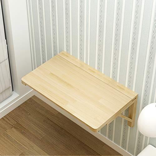 Outech väggfällbart bord, fällbart bord matbord av trä, laptopbord väggbord för litet rum