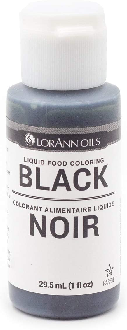 LorAnn Oils Liquid Food Color, 1-Ounce, Black…