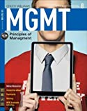 MGMT: Principles of Management (Book and Coursemate Access Card) (New, Engaging Titles from 4LTR Press)