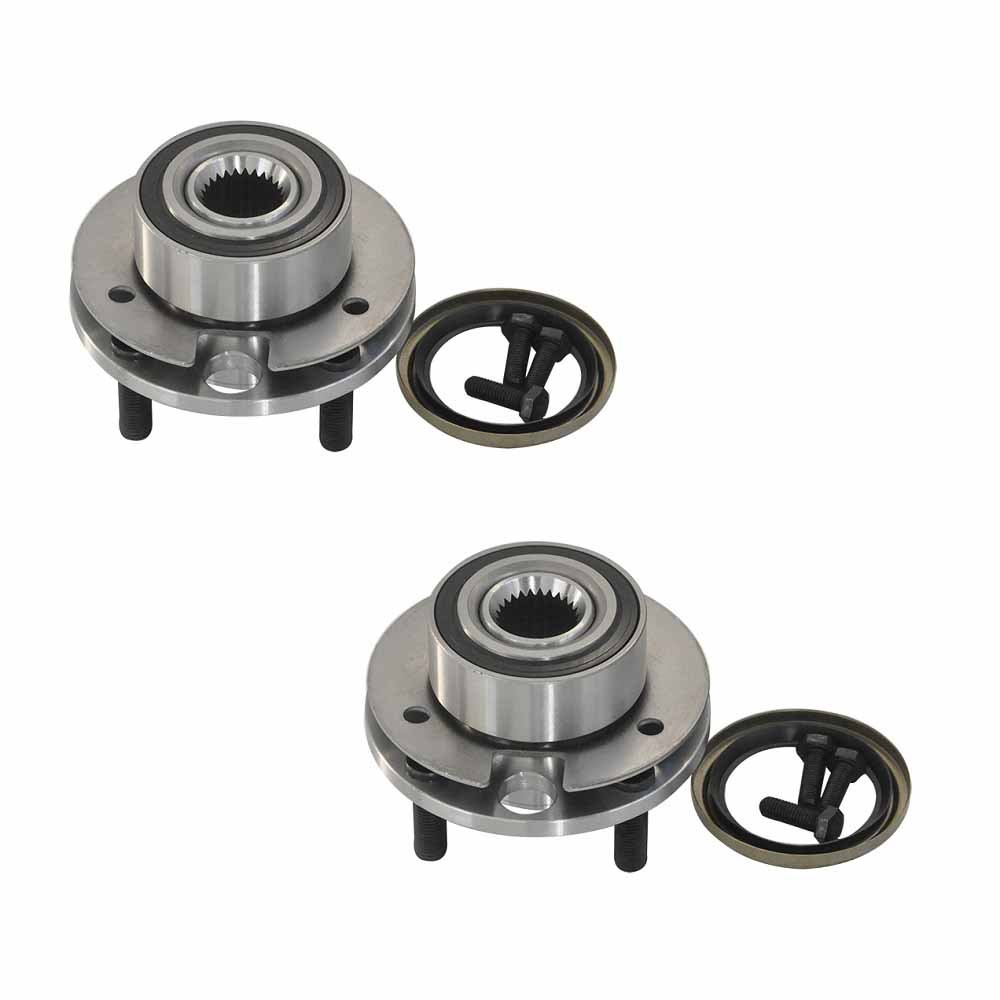 DRIVESTAR 518500x2 Pair:2 New Front Left and Right Wheel Hub & Bearings for Chrysler Dodge Plymouth