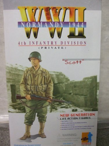 Scott - 4th Infantry Division Private - Normandy -