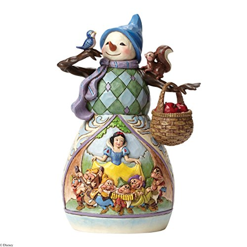 Jim Shore for Enesco Disney Traditions by Snowman Snow White Figurine, 7