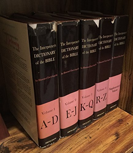 The Interpreter's Dictionary of the Bible (5 Volume Set) by Keith R. Crim - Shopping George Lake Mall