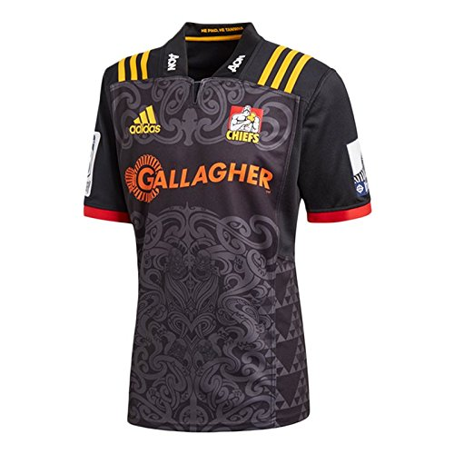 adidas Chiefs Super Rugby Home SS Jersey - Rugby Home Usa Jersey