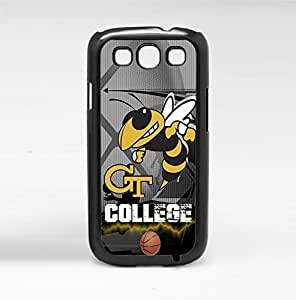 Georgia Tech Yellow Jackets College Basketball Sports Hard Snap on Phone Case (Galaxy s3 III) hjbrhga1544