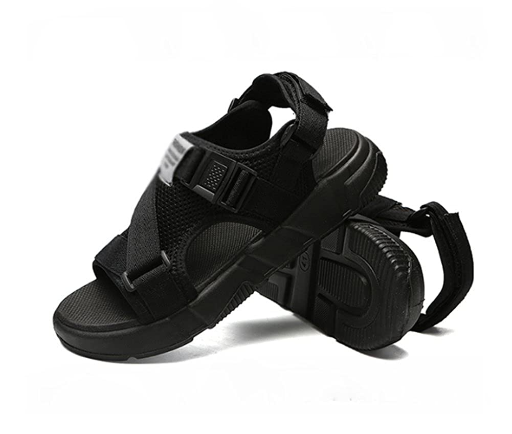 Mens Summer Thick-Bottomed Sandals,Net Yarn Student Movement Leisure Sandal