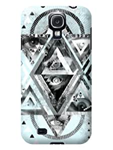 Classic&Chic Trend Multiple View Cream-white Hard Case For Samsung Galaxy S4