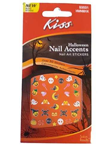 Halloween Nail Accents Art Stickers (53031) ()