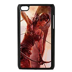 QSWHXN Tomb Raider Phone Case For Ipod Touch 4 [Pattern-1]