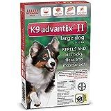 K9 Advantix II Flea Control for Dogs 21-55 Pounds (6 Applications)