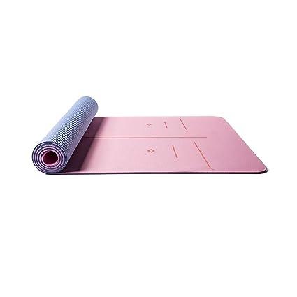 Amazon.com : Qiaoxianpo01 Yoga Mat, Solid TPE Material ...