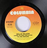 Willie Nelson 45 RPM I Guess I've Come To Live Here In Your Eyes / Angel Flying Too Close To The Ground
