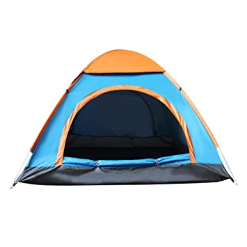 Techcell 2 Seconds Open Pop Up Throw Tent 3-4 Person Tent Hiking Fast Set  sc 1 st  Amazon.com & Amazon.com : Techcell 2 Seconds Open Pop Up Throw Tent 3-4 Person ...