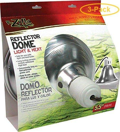 Zilla Reflector Dome with Ceramic Socket 60 Watts (5.5