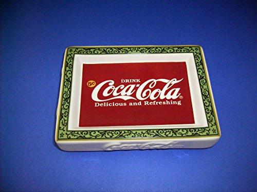 (Coca-cola Ceramic Soap Dish)