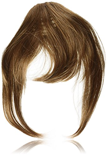 (Clip Lok Bangs by Revlon Clip In Bang Fringe Hairpiece - Light Brown)