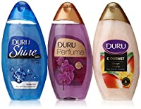 Duru 3 Piece Shower Gel Variety Pack, Sapphire/Mango Ice Cream/Orchid