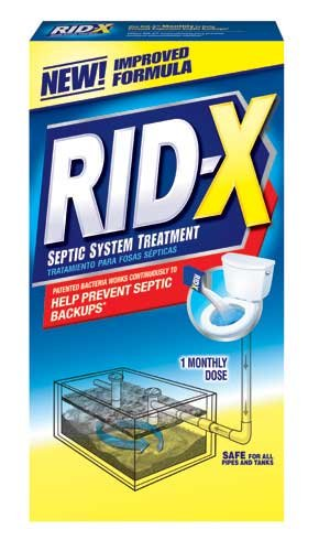 RID-X 80306 Rid-X Septic System Treatment, Concentrated P...