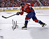 "Alex Ovechkin Washington Capitals Autographed 8"" x 10"" Red Jersey Shooting Photograph - Fanatics Authentic Certified"