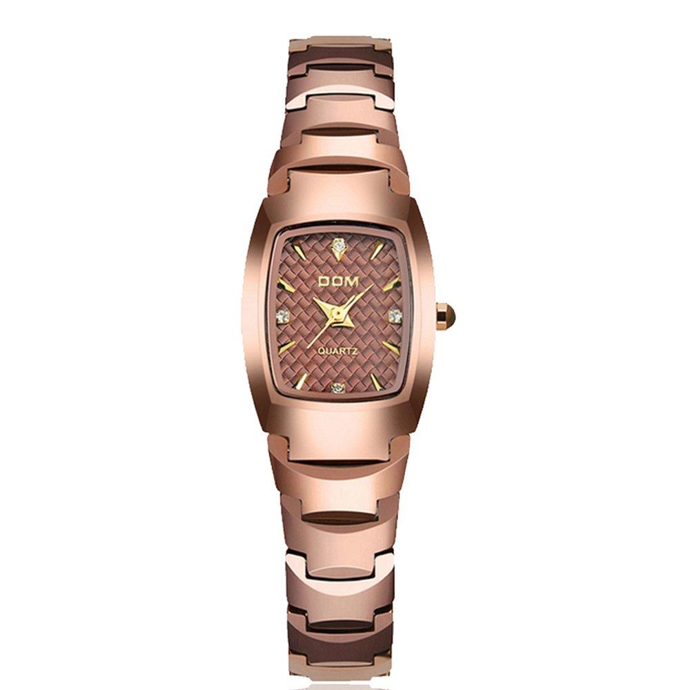 Sheliファッション腕時計レディースブランド高級レディースタングステンスチール防水クォーツFemininoレディースブレスレット B06WVBKTRR