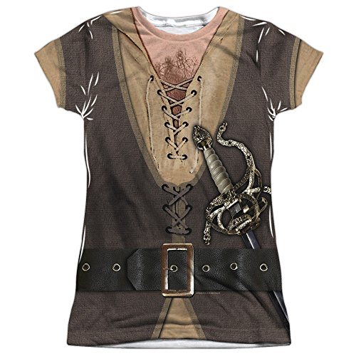 Princess Bride Fantasy Movie Inigo Montoya Costume Junior Front Print T-Shirt T