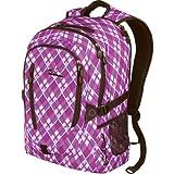 High Sierra Rupert Backpack, Purple Argyle