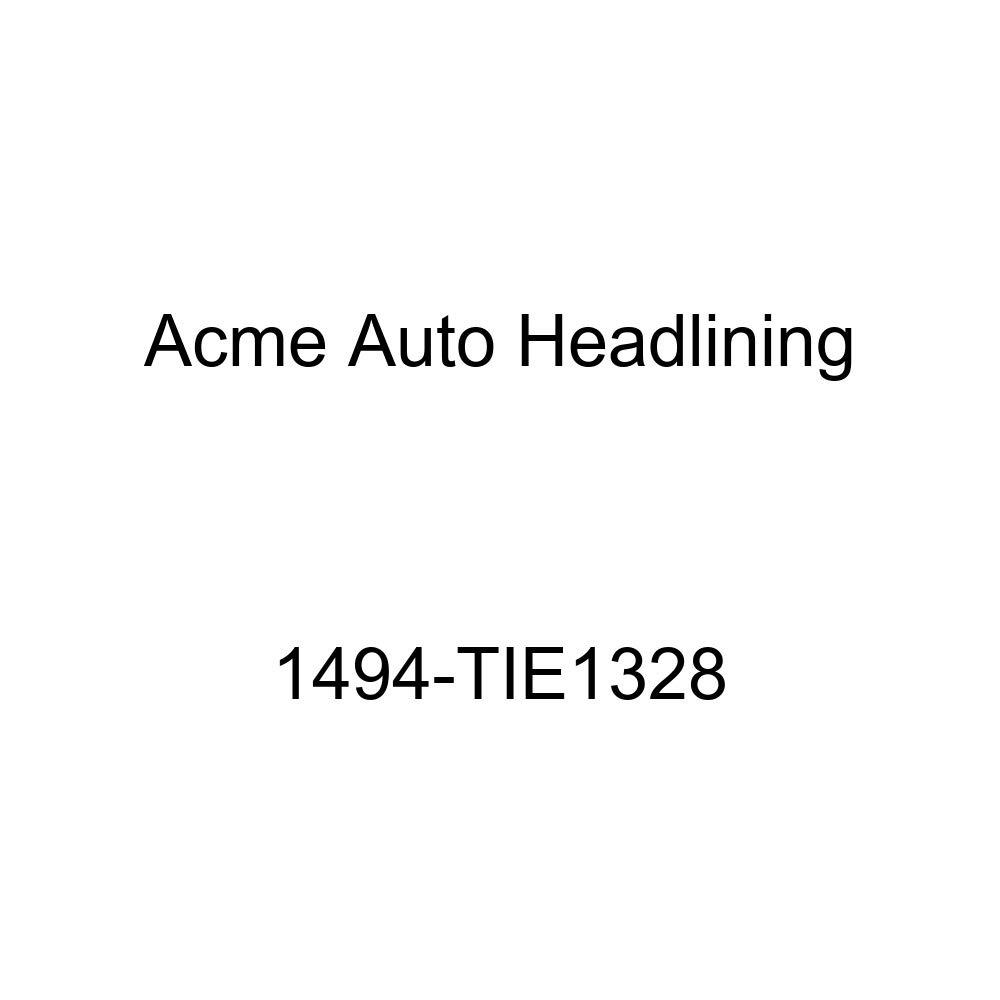 1960 Chevrolet Bel Air 4 Door Hardtop 6 Bows Acme Auto Headlining 1494-TIE1328 Red Replacement Headliner