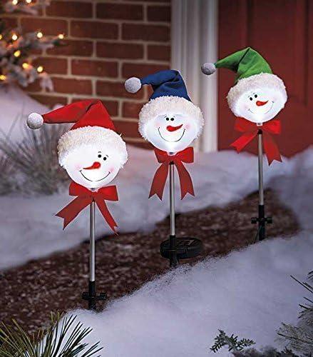 Snowman Garden Stake