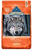 Cheap Blue Buffalo Wilderness High Protein Grain Free, Natural Adult Large Breed Dry Dog Food, Chicken 24-lb