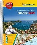France 2019 -A4 Tourist & Motoring Atlas: Tourist & Motoring Atlas A3 spiral (Michelin Road Atlases)