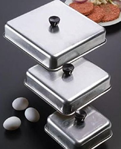Aluminum Basting Cover (NEW-American Metalcraft-(BASQ1020) - 10 in x 10 in Aluminum Basting Cover)
