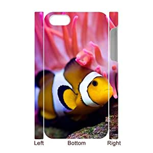 Y-M-D The Iphone 4 Cases And 4s, Clown Fish Hard Cover Case For Iphone 4/4s 3D