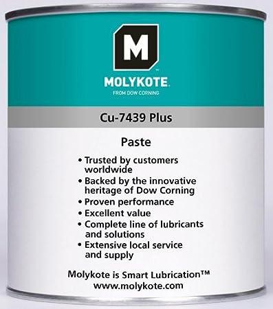 Molykote cu7439pps400 – Spray Kupfer Pasta, grün/weiß, 400 ml