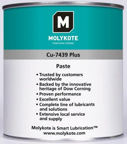 MOLYKOTE CU7439PPS400 Spray Pasta de Cobre, Verde, Blanco, 400 ML