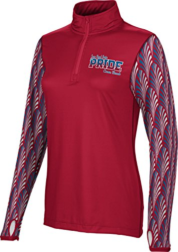 Women's Cocoa Beach Senior High School Deco Half Zip Long Sleeve (Apparel) - Deco Cocoa