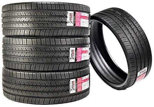 Set of 4 (FOUR) Atlas Tire Force UHP Ultra-High Performance All Season Radial Tires-275/25R28 99W -