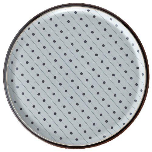 Denby Amethyst Stone Round Platter -