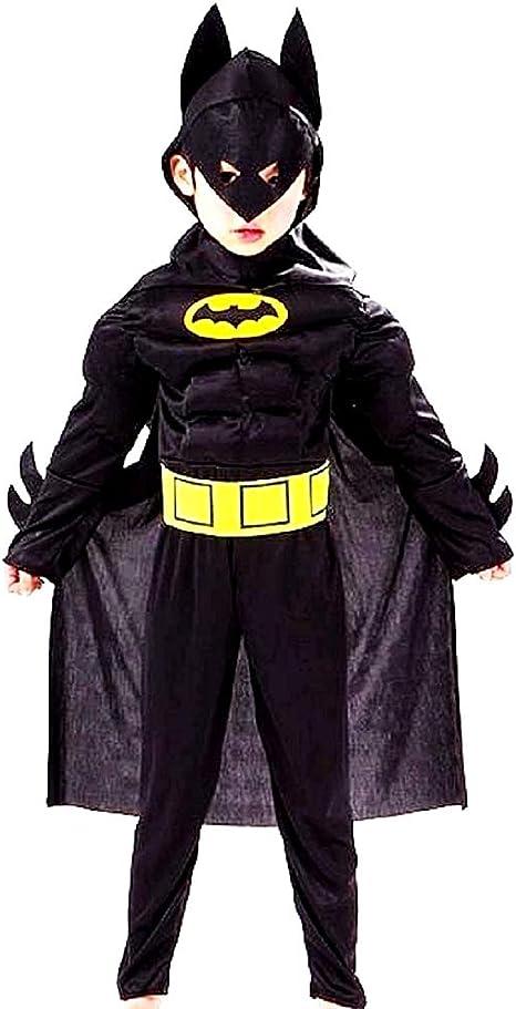 Disfraz de Batman - Busto musculoso - Superhéroe y máscara ...