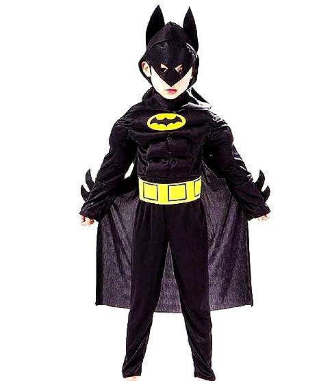 Disfraz de Batman - torso musculoso - superhéroe y máscara ...