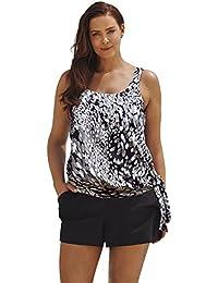 Amazon.com: plus size blouson swimsuits: Clothing, Shoes