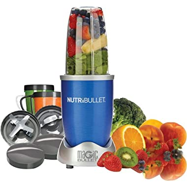 NutriBullet 12-Piece High-Speed Blender/Mixer System, Blue