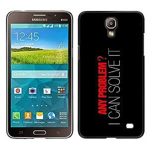 LECELL--Funda protectora / Cubierta / Piel For Samsung Galaxy Mega 2 -- Cualquier problema que pueda resolverlo --