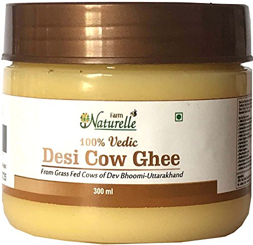 Farm Naturelle 100% Pure Cow Ghee from A2 Milk (300 ml)